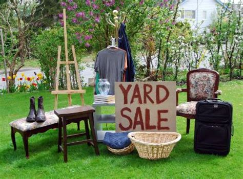 Backyard On Sale 12 Tips For A And Profitable Yard Sale The