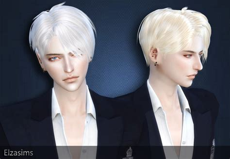 sims 4 male hairstyle cc sims 4 cc s the best male hair by elzasims