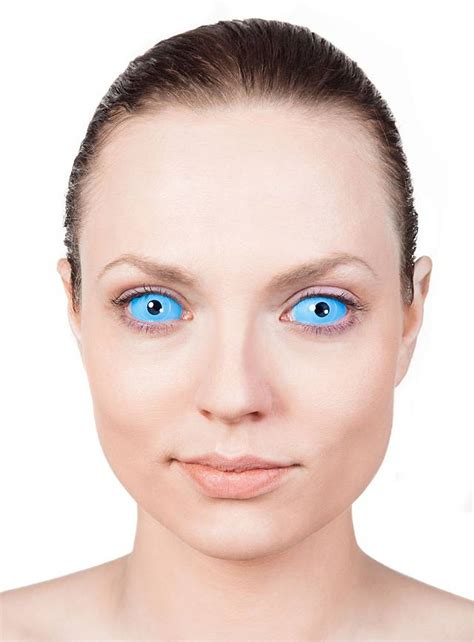 Light Blue Contacts by Sclera Light Blue Contact Lenses Maskworld