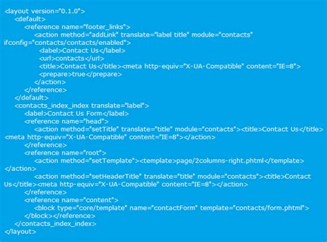 magento add layout xml file all about magento layouts