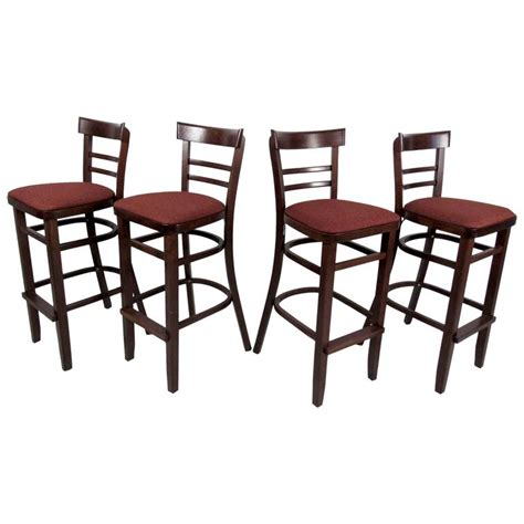 modern bar stools sale set of four contemporary modern bar stools for sale at 1stdibs
