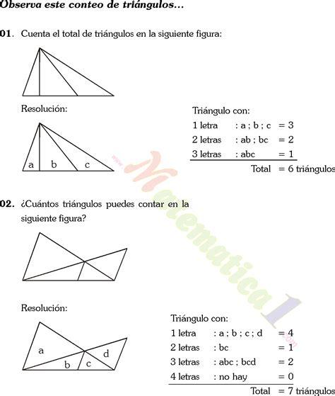 conteo de figuras matematicas ejercicios resueltos conteo de figuras matematicas ejercicios resueltos