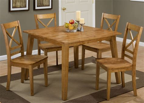 simplicity honey square dining room set 352 42 jofran