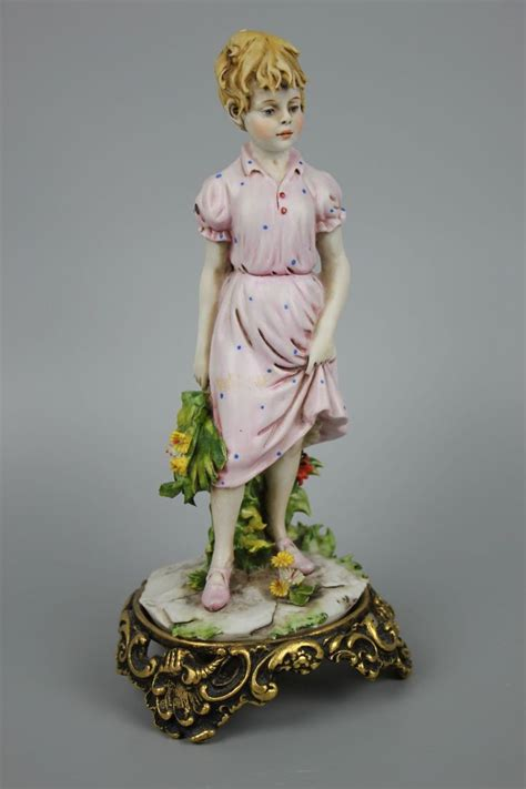 3 Kaserol Capodimonte 3 capodimonte benacchio figurine with flowers products flower and