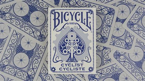 Bicycle Cyclist Blue Cards bicycle cyclist blue cards deck review display