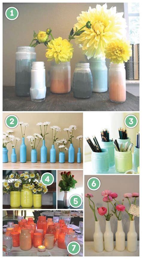 spray painting glass spray painting glass bottles jars work stuff