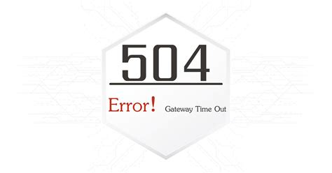 gateway timeout   fix http error