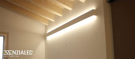 illuminazione travi legno legno disegno soffitto