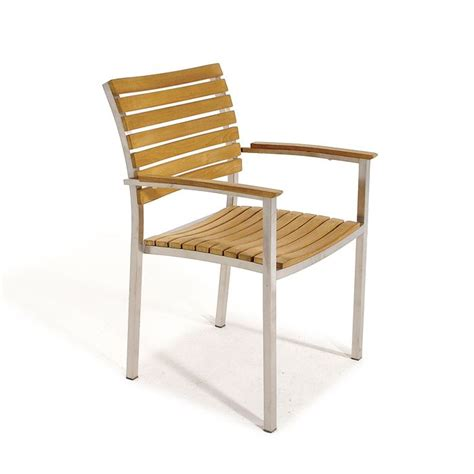 Stainless Steel And Wood Outdoor Furniture by 17 Best Images About Arm Dining Chairs On