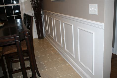 Faux Wainscoting by The Prodigy Mommas Faux Wainscoting