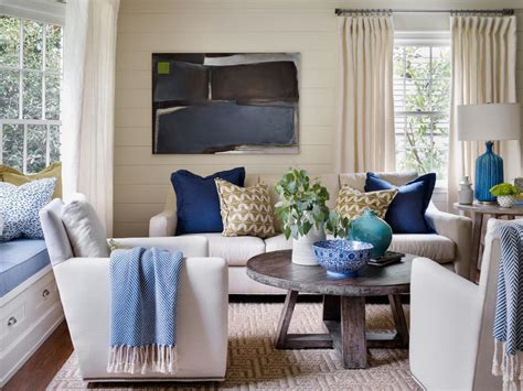 Photos Of Blue And White Living Rooms Interior Home by Photo Page Hgtv