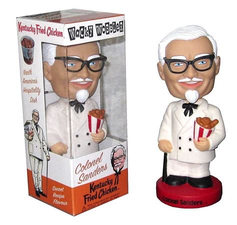 bobblehead price guide colonel sanders wacky wobbler wacky wobblers ad icons
