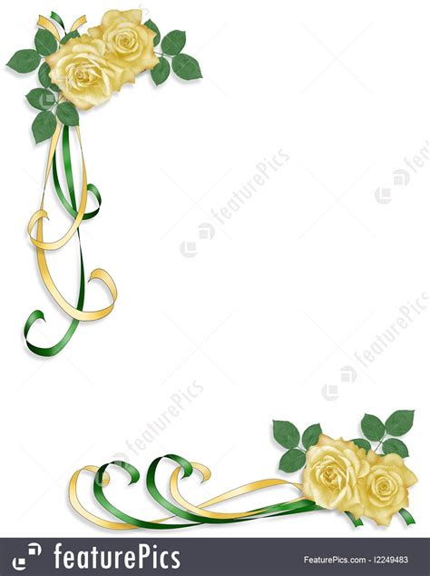 Wedding Border Green by Green Wedding Borders Www Pixshark Images