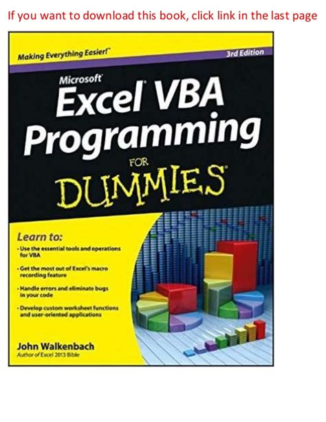 Cover Letters For Dummies 3rd Edition Ebook E Book excel vba programming for dummies 3rd edition pdf ebook free