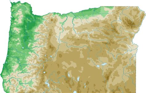 topographical map oregon oregon topo map topographical map