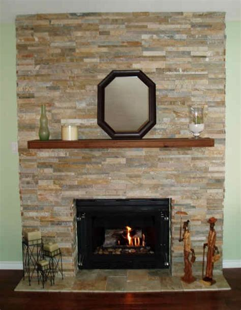 re faced fireplace for the home