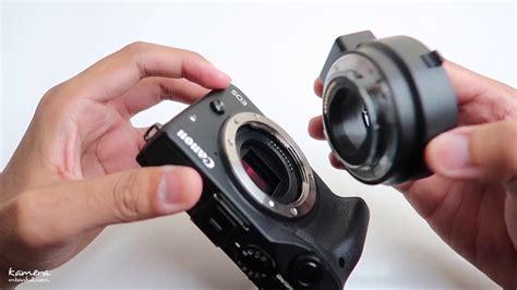 Lensa Canon M3 review adapter murah canon eos m3 bisa semua lensa dslr