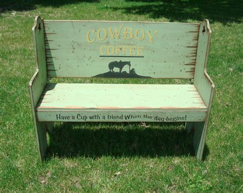 western bench santa fe style bench seat western bench bench rustic bench