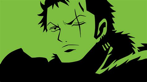 wallpaper one piece hitam putih roronoa zoro 1920 x 1080 by beaken on deviantart