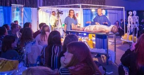 anatomy lab live coming to merseyside have a slap up