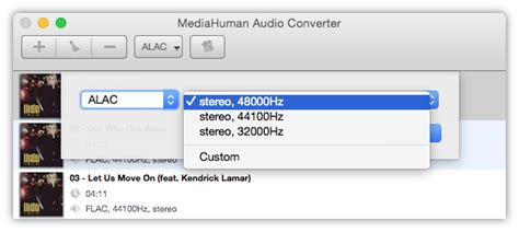 flac format audio quality converting flac to apple lossless alac without quality