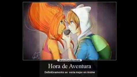 imagenes anime de hora de aventura hora de aventura version anime youtube