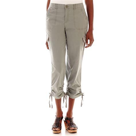 Gloria Vanderbilt Cargo Capris - Breeze Clothing Gloria Vanderbilt Capris Pants