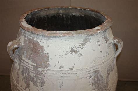 large antique terracotta olive jar pottery  sale