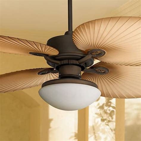 wide blade ceiling fans 52 quot casa vieja aerostat wide palm blades outdoor ceiling