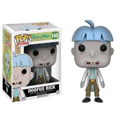 Funko Pop Original Rick And Morty Tinkles With Ghost In A Jar funko pop rick and morty doofus rick figure exclusive