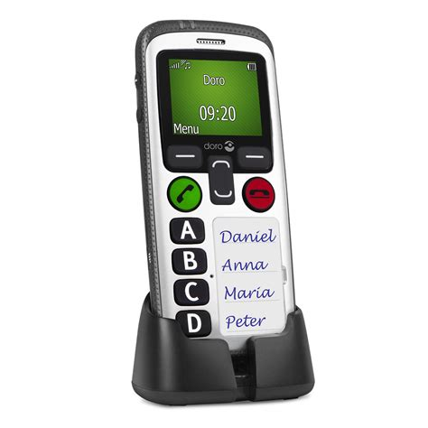 mobile secure doro secure 580 mobile phone