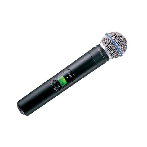 Mic Kabel Shure Beta 58 Ada On shure slx beta 58 handheld radio microphone system twisted audio