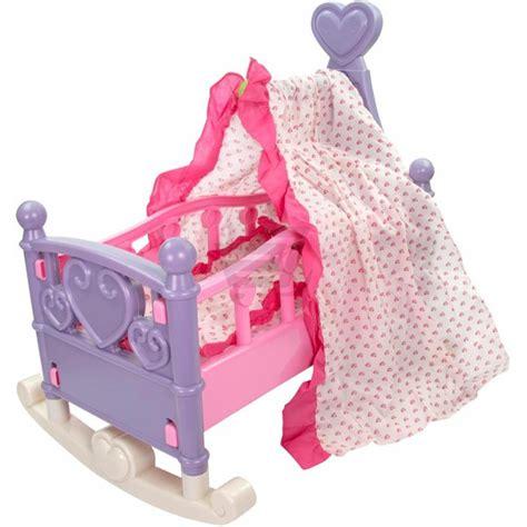 baldacchino lettino lettino per bambole baldacchino letto culla bambolotti con