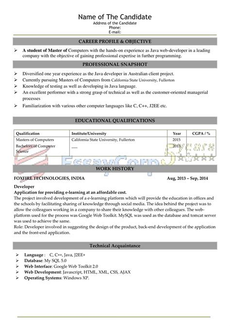 writing a 1 page resume resume objective best resume templates
