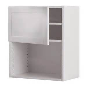 faktum wall cabinet for microwave oven liding 246 white