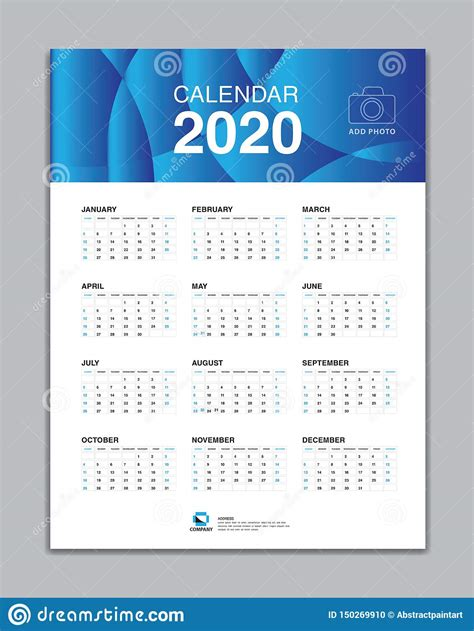 calendar  template wall calendar  vector desk calendar design week start  sunday