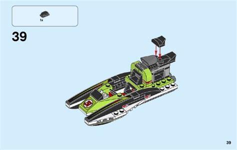 60114 Lego City Race Boat lego race boat 60114 city