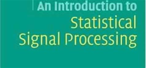 statistical signal processing in engineering books 15 free ebooks on telecom engineering free books