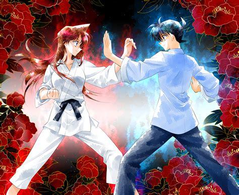 anime fight martial arts meitantei conan detective conan aoyama goushou image