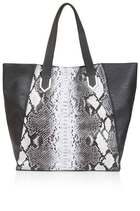 Temperley Gigi Snake Print Tote by Kendall Jenner And Gigi Hadid Dress Up For Dinner At