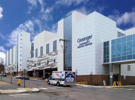geisinger emergency room project portfolio
