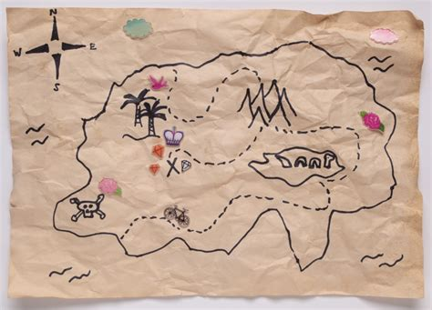 How To Make Treasure Map Paper - make a treasure map for an easter egg hunt ryland
