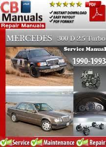 manual repair autos 1993 mercedes benz 300d on board diagnostic system mercedes 300d 2 5 turbo 1990 1993 service repair manual ebooks automotive