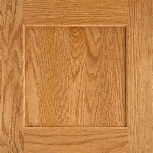 replacement oak kitchen cabinet doors american woodmark 14 9 16x14 1 2 in reading oak cabinet door sle in honey 99836 the home depot