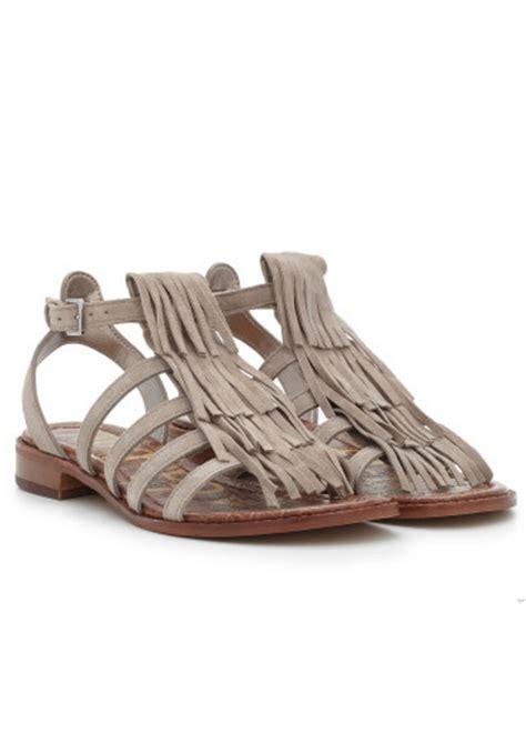 sam edelman fringe sandals sam edelman estelle fringe suede sandals putty