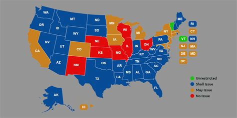concealed carry usa map 86 concealed carry permit reciprocity maps usa carry