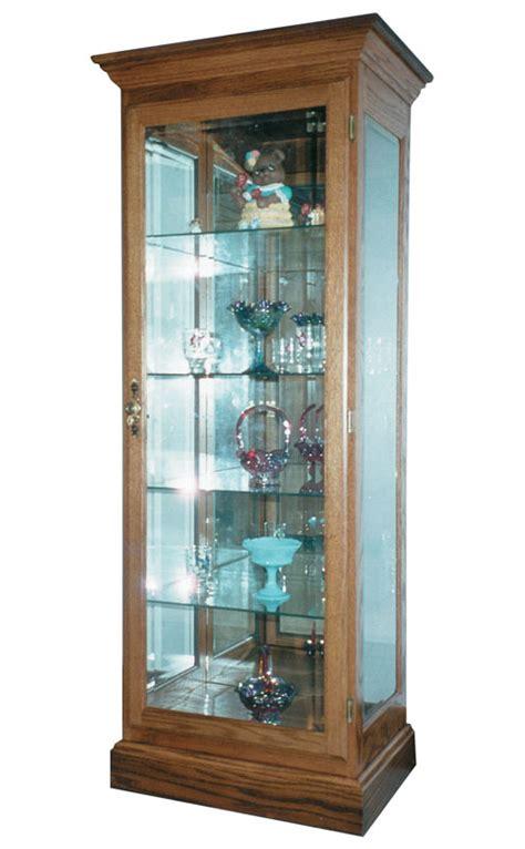 small flat wall curio ohio hardwood furniture