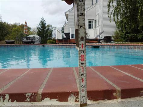 concrete lifting  leveling pool deck fixed  lebanon