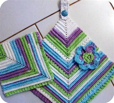 crochet pattern kitchen 13 quick kitchen crochet patterns