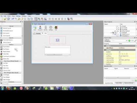 tutorial qt mobile qt designer create application gui graphical user i